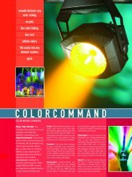 COLORCOMMAND - High End Systems