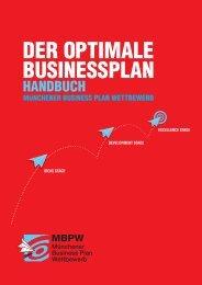 Der Businessplan - Bayerische Beteiligungsgesellschaft mbh