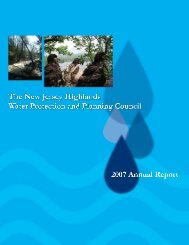 2007 Annual Report - New Jersey Highlands Council
