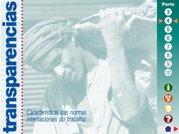 Características das normas internacionais do ... - Training.itcilo.it