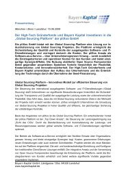 Pressemitteilung (PDF) - Bayern Kapital