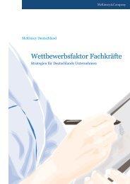 Wettbewerbsfaktor Fachkräfte - McKinsey & Company