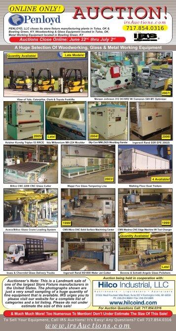 AUCTION! - Hilco Industrial