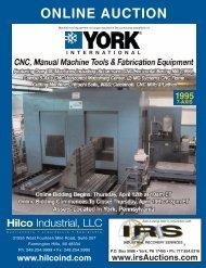 ONLINE AUCTION - Hilco Industrial