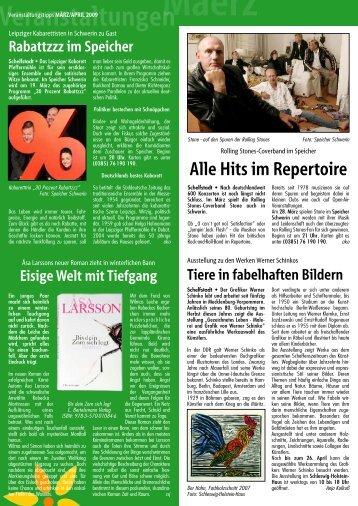 Alle Hits im Repertoire - Hauspost
