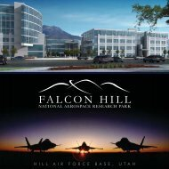 Falcon Hill 8x8 Brochure.indd - Hill Air Force Base