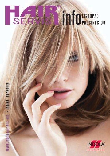 listopad - prosinec 2009 - Hair servis