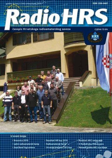 Radio HRS 3/10 - Hrvatski Radioamaterski Savez