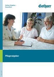 Pflegeratgeber - Gothaer Versicherungen