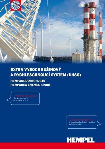 extra vysoce sušinový a rycHlescHnoucí systém (uHss) - Hempel