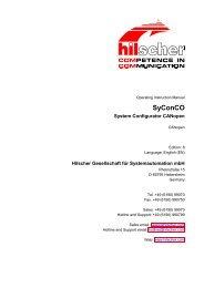 SyConCO - Hilscher