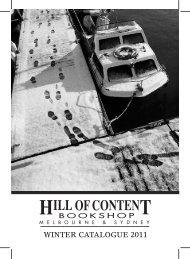Winter 2011 - Hill of Content Bookshop