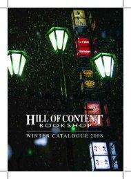 Winter 2008 - Hill of Content Bookshop