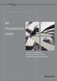 BIS Prozesstechnik Gmbh - Bilfinger Berger Industrial Services