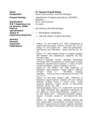 info............... - CSK Himachal Pradesh Agricultural University