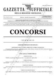 N. 11-Venerdì 26 agosto 2011- Serie Concorsi - Gazzetta Ufficiale ...