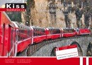 Kiss - Neuheiteninfo RhB Panoramawagen - Grossbahn