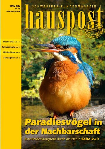 Paradiesvögel in - Hauspost