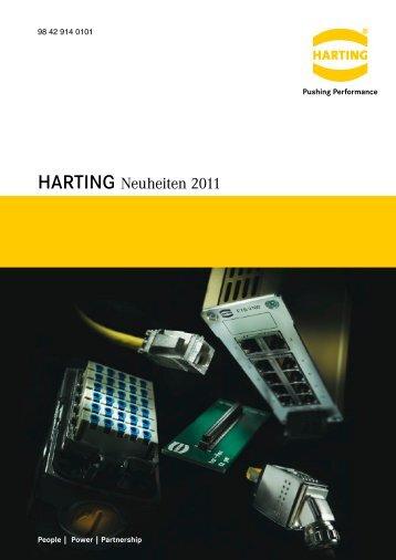 HARTING Neuheiten 2011 - HARTING Technologiegruppe