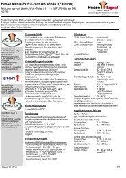 Hesse Medic-PUR-Color DB 48245 -(Farbton) - Hesse Lignal