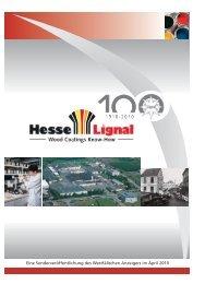 100 Jahre Qualität, Fortschritt und Vertrauen - Hesse Lignal