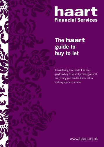 The guide to buy to let - Haart