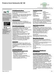 Proterra Cerol Hartwachs GE 140 - Hesse Lignal