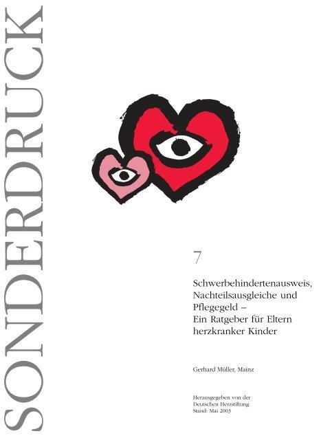 Ein Ratgeber für Eltern herzkranker Kinder - Deutsche Herzstiftung eV