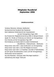 06. September 2006 - Heinrich von Herzogenberg, Komponist
