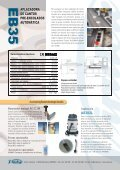 aplacadora de cantos pre-encolados de hasta 3 mm de espesor - Page 2