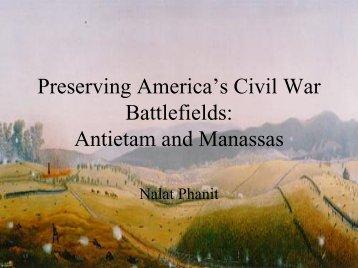 Antietam Battlefield vs. Manassas Battlefield - Greendesignetc.net