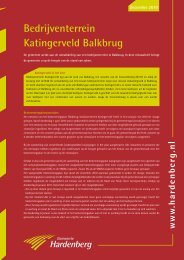 Nieuwsbrief december 2010 (PDF, 569 kB) - Gemeente Hardenberg
