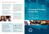 Direct access information - Henderson Chambers