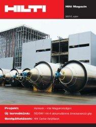 Hilti Magazin 2007/5. szám - WebDream