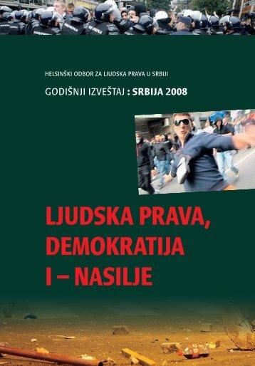 ljudska prava, demokratija i – nasilje - Helsinki Committee for ...