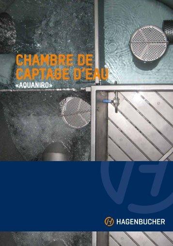 CHAMBRE DE CAPTAGE D'EAU - Tmh.ch