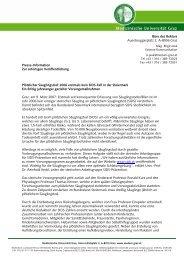2006 erstmals kein SIDS-Fall in der Steiermark E - G´sund Online