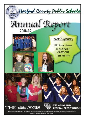 2008-09 Annual Report - Harford County Public Schools
