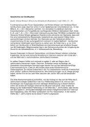 Geschichte von Großkuchen Quelle: Helmut Weimert: Historisches ...
