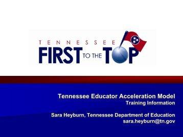 Tennessee Educator Acceleration Model - Harvard Graduate School ...
