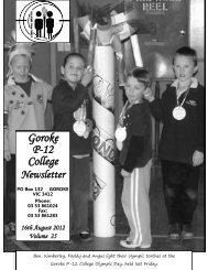 Goroke P-12 College