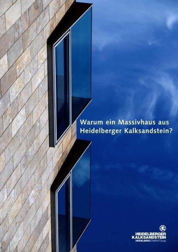 Massivhaus - Heidelberger Kalksandstein GmbH