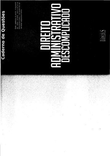 Caderno de Questões - Direito Administrativo Descomplicado.pdf