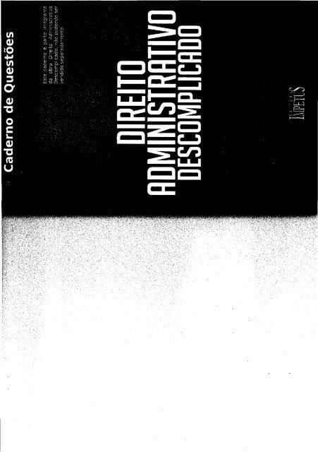 Descomplicado administrativo resumo pdf direito