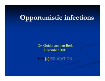Opportunistic infections - Health[e]Foundation