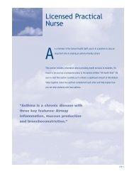LPN, School Asthma Manual - Minnesota Department of Health