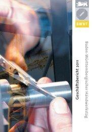 BWHT-Geschäftsbericht 2011 - Baden-Württembergischer ...