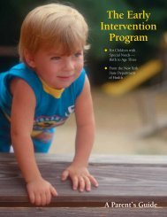 A Parent's Guide - New York State Department of Health