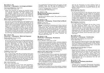 Mo, 04.04.11 | 19h Geschichte in Bewegung – vom Umgang mit Bildern ...