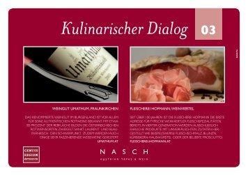 Kulinarischer Dialog 03 - Hilton Austria